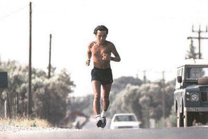 Haruki Murakami běží
