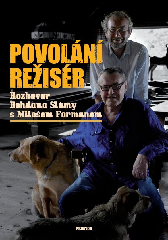 Povolání režisér, Bohdan Sláma, obal knihy